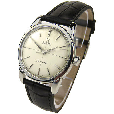 Omega Seamaster Vintage Stainless Steel Automatic Wristwatch Circa 1958