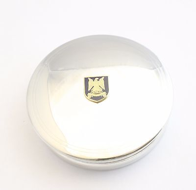 Royal Scotts Guards Pewter Trinket Jewellery Pill Box Military Gift BKG26