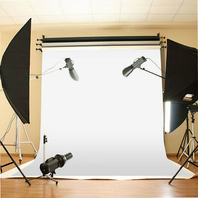10X10ft White Muslin Cloth Screen Backdrop Photo Photography Studio Background