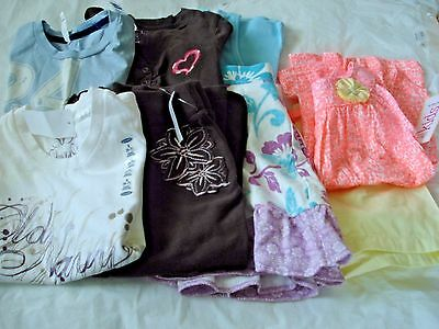 Girls Clothes Lot of 8  tems Size 6/6X -6/7 New