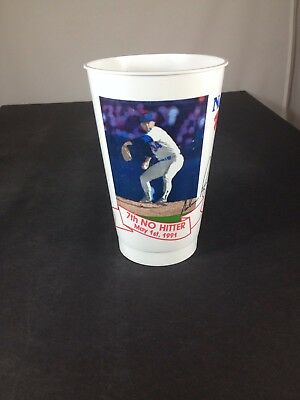 Nolan Ryan, MLB Texas Rangers 7th No Hitter Beer Cup May 1st 1991