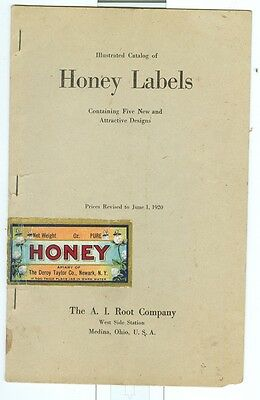1920 Color Catalog of Honey Labels