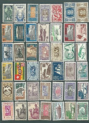 FRANCE - Mint collection of French Colonial stamps
