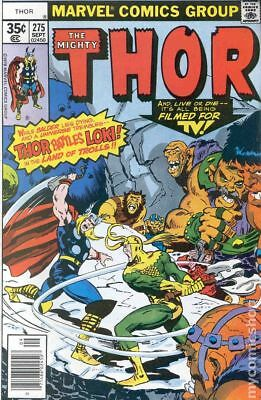 Thor (1962-1996 1st Series Journey Into Mystery) #275 FN