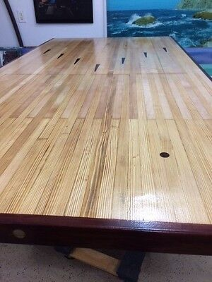 Bowling Alley Dining Table