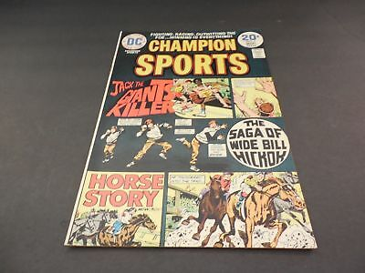 Champion Sports #3 March 1974 Bronze Age DC Comics Uncirculated          ID:6251