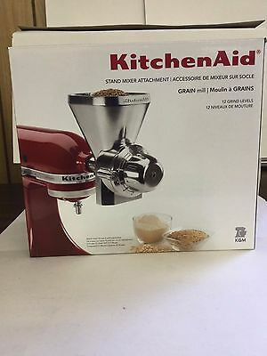 KitchenAid KGM Stand Mixer Metal Grain Mill Attachment NEW IN BOX