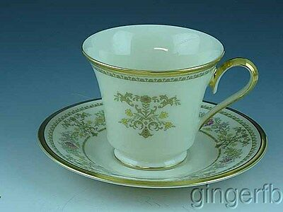 Lenox Castle Garden Cup and Saucer Discontinued in 1993 #1