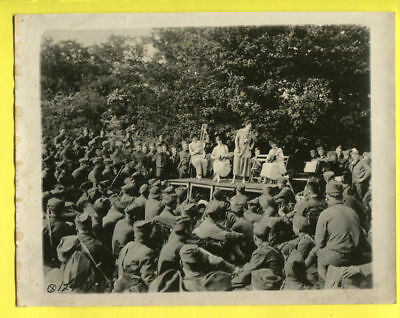 1918 All Women Band Entertain the Troops Original Press Photo