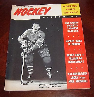 Hockey Pictorial April 1964 Jacques Laperriere    # 2