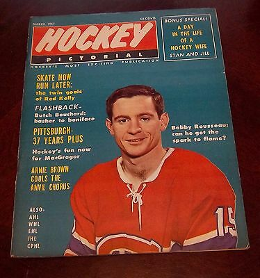 Hockey Pictorial March 1967 Bobby Rousseau  # 2