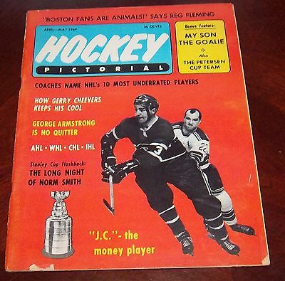 Hockey Pictorial April - May 1969 J.C. Tremblay   # 2