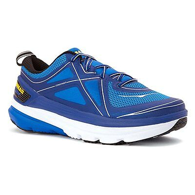 HOKA ONE ONE CONSTANT Mens Running Shoes Size 12 NEW TRUE BLUE EMPIRE YELLOW