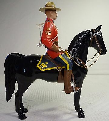 1950's Hartland Sgt Lance O'Rourke Canadian Mountie & Horse Statue Complete Set
