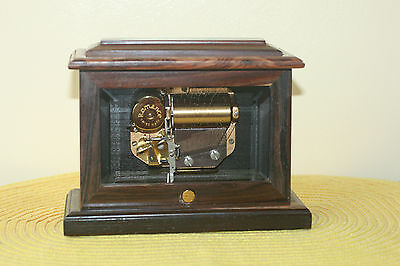 ANTIQUE SOLID WOOD KOHAUT & Co.STANDING MUSIC BOX REUGE SWISS MADE MOVEMENT