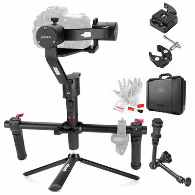 MOZA Air 3 Axis Handheld Cameras Gimbal Stabilizer with Dual Handheld Grip+ Gift