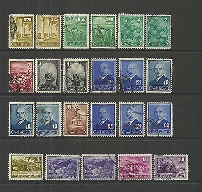 Turkey Turkiye ~ 1943 Definitives (Postally Used Part Set)