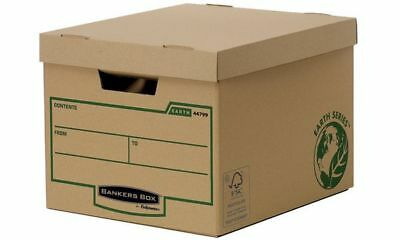 #10xFellowes BANKERS BOX EARTH Archiv-/Transportbox Heavy Duty