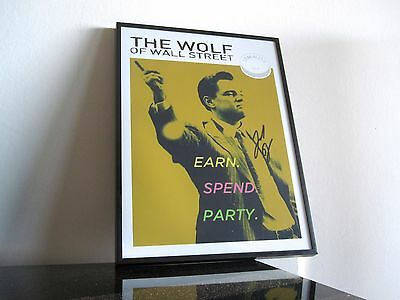 The Wolf of Wall Street - Autogramm - Pop Art - Leonardo DiCaprio - Lemmons Drug