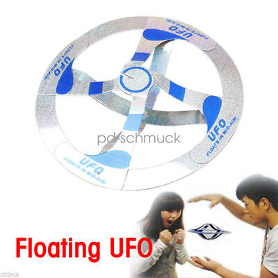 PD Kinder Toy Cool Amazing Mystery UFO Floating Flying Disk Saucer Magic Trick
