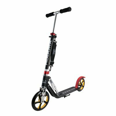 Hudora Big Wheel 205 Roller RX-Pro 205 Scooter schwarz rot gold