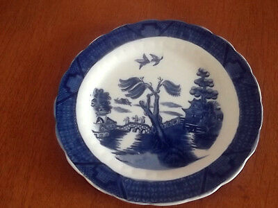 Booths   Blue And White   Real Old Willow  Side Plate