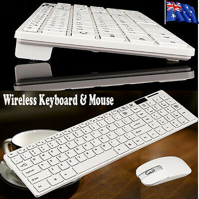 2.4GHz 10 Meters Wireless Keyboard And Mouse Combos For PC Laptop Win7/8 AU Ship
