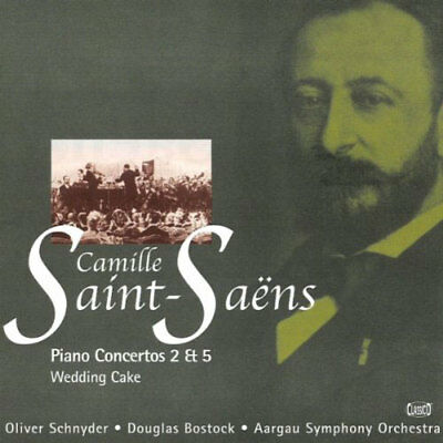 oliver schnyder - piano concertos 2 and 5, Saint-Saens, Camille (CD)