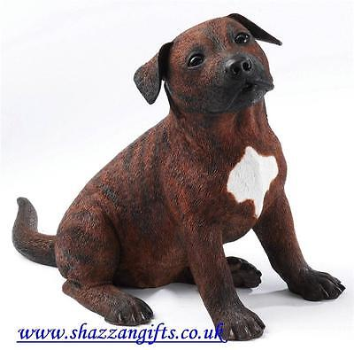 Country Artists Large Staffordshire Bull Terrier Puppy