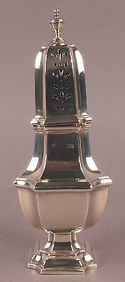 Beautiful English Vintage Sterling Silver Sheffield Sugar Caster 1936
