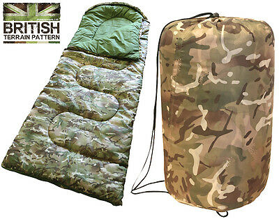 SunnCamp Junior Sleeping Bag camping childrens kids scouts Camouflage