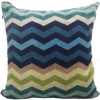MISSONI HOME PETE 170 TERRY PILLOW COVER IN OUTDOOR 40x40 30x60cm CUSCINO SPUGNA