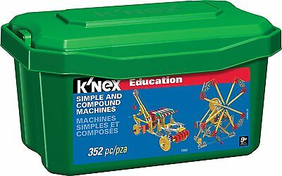 K'Nex Education Simple and Compound Machines Build 16 Functional Constructions