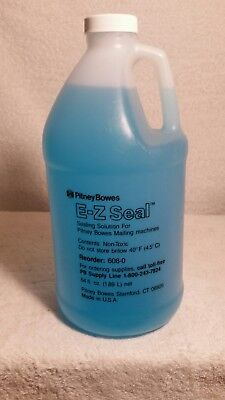 Pitney Bowes E Z Seal Sealing Solution (New sealed 64 ounce bottle)