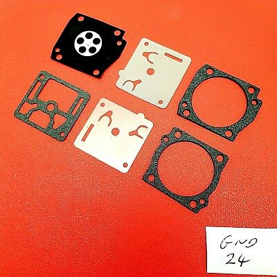 Carburettor Repair Kit Fits Zama GND-24 Husqvarna 365 Jonsered 2065 Robin  #006