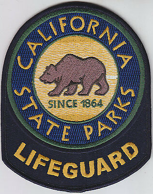 California CA State Parks LIFEGUARD patch (police/ems/fire/environmental)