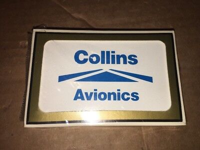 COLLINS RADIO avionics Playing Cards RARE Bridge Set