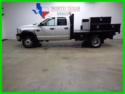 2008 Dodge Ram 4500 2WD Flat Bed 6.7 Turbo Diesel Crew 2008 2WD Flat Bed 6.7 Turbo Diesel Crew Used Turbo 6.7L I6 24V Automatic