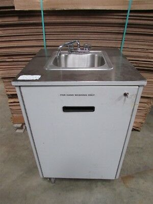Portable Hand Washing Sink w/ Hot Water 110v