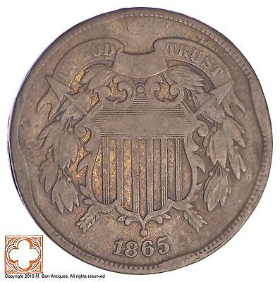 1865 Two Cent Piece *YB65