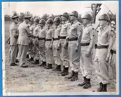 1964 Camp McCoy Kentucky National Guard Original Press Photo