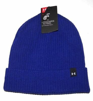 4422dc9c8f5 Under Armour Womens Ua Favorite Knit Beanie Black One Size 1286502 Beanies