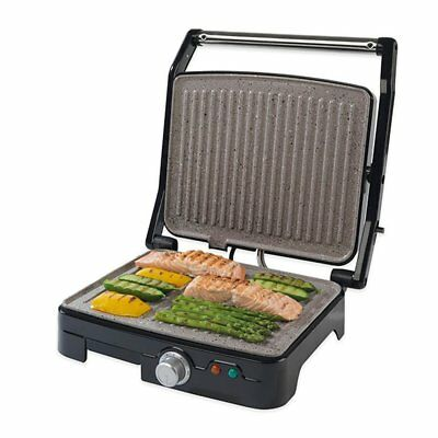 Salter Marble Ceramic 180° Health Grill Sandwich Maker w/ Adjustable Temperature