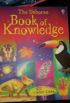 Book of Knowledge by Emma Helbrough Usborne paperback reference book Brand new