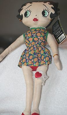 Betty Boop Doll Approx.16In Tall Peace Lovin Betty