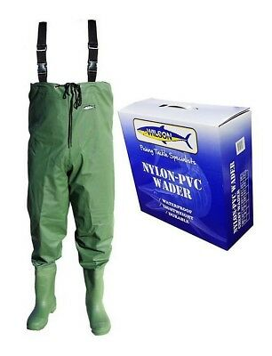 Wilson Waterproof Fishing Chest Wader - Lightweight, Durable Nylon PVC