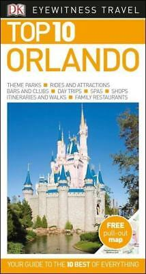 NEW Orlando By DK Eyewitness Travel Guide Paperback Free Shipping