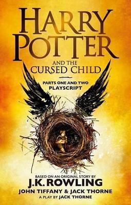 NEW Harry Potter and the Cursed Child - Parts One and Two  By J.K. Rowling