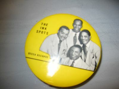 """The """"Ink Spots"""" Decca Records Cleaning Brush, Extremely Nice."""
