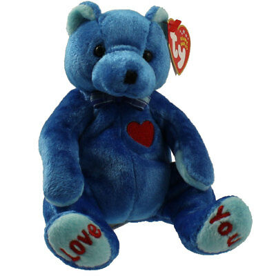 TY Beanie Baby - DAD-e the Bear (Internet Exclusive) (7.5 inch) - MWMTs